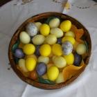 Last Minute Ostereier färben