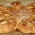 Herzhafter Brotstern