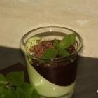 Mint Panna Cotta (Low Carb)