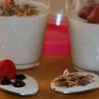 Mandelbrei zum Frühstück (Low Carb, Keto, milchfrei, vegetarisch)