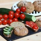 Kartoffelfaser-Chia-Brötchen (Low Carb / Keto)