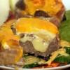 Loaded Burger Salat (Low Carb / Keto)