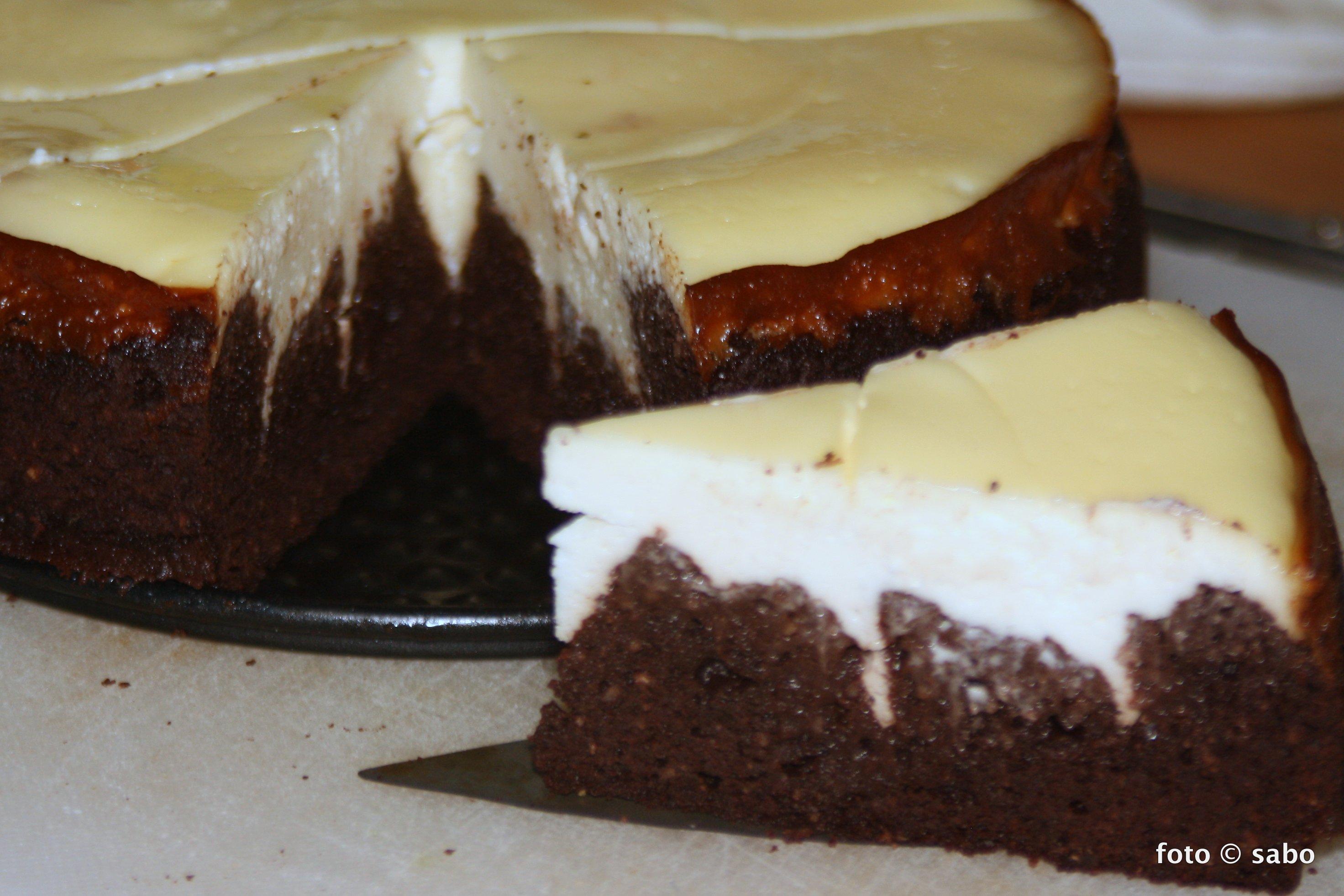 Kokos-Brownie-Cheesecake-Fusion