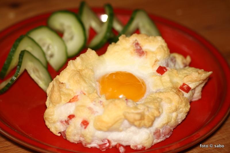Ein Wölkchen-Ei