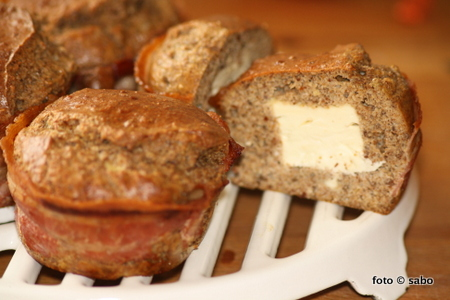 Sabos Bacon-Feta-Muffins (Low Carb)