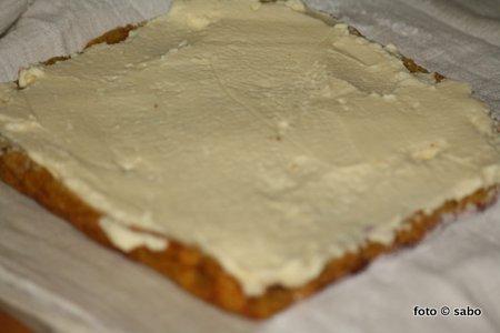 Kürbis-Frischkäse-Rolle (Low Carb)