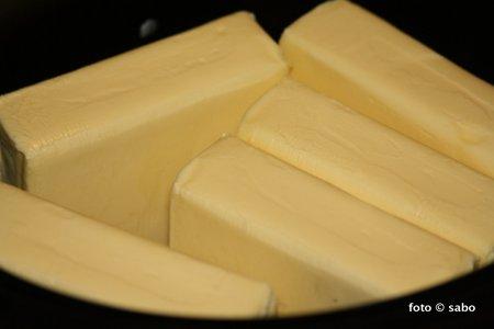 Geklärte Butter / Ghee im Crocky