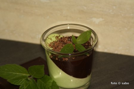 Mint Panna Cotta (Low Carb)