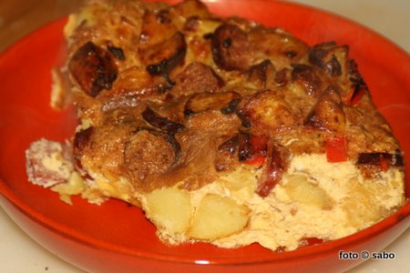 Tortilla española in der ActiFry