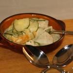 Fruchtiger Gurken-Rettich-Salat (Low Carb)