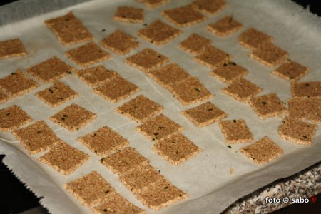 Bärlauch-Cracker (Low Carb)