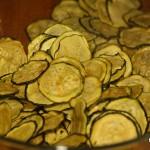 Zucchini Chips aus der Dörrte