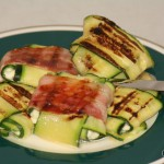 Zucchini-Ravioli (Low Carb mit vegetarischer Option)