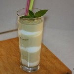 Avocado-Joghurt-Melonen-Smoothie (Low Carb)