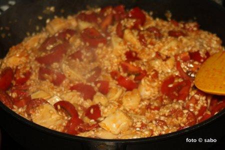 Paella (nicht original aber lecker)