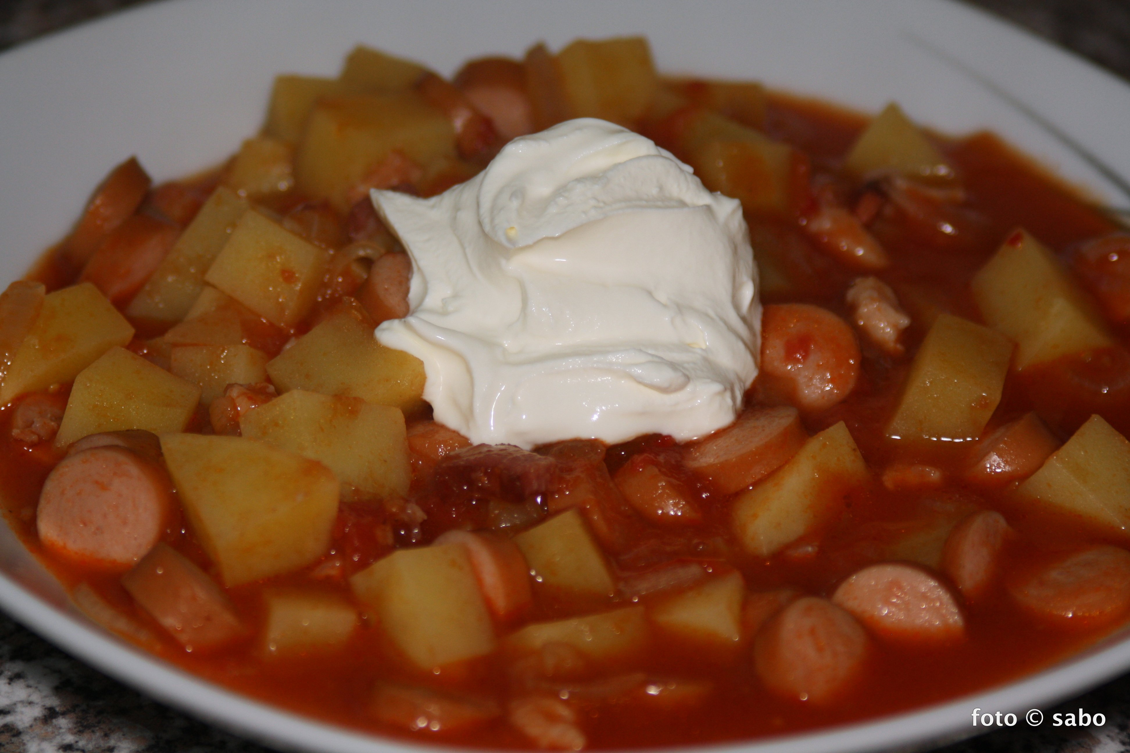 Kartoffelgulasch – Resteverwertung