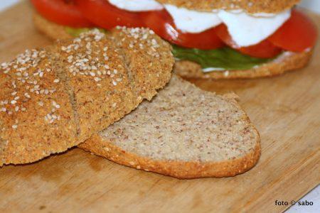 Kartoffelfaser-Baguettes (Low Carb / Keto)