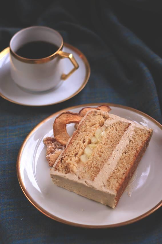 Apfel-Chai-Torte mit Whisky-Karamell / Dulce de Lia