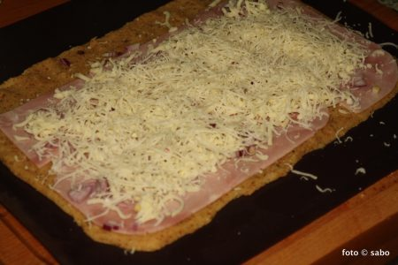 Schinken-Schnecken (Low Carb / Keto)