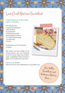 Happy Carb: Meine liebsten Low-Carb-Rezepte / Buttertoast Low Carb
