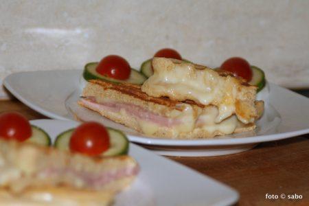 Mikrowellen-Kartoffelfaser-Sandwich (Low Carb)