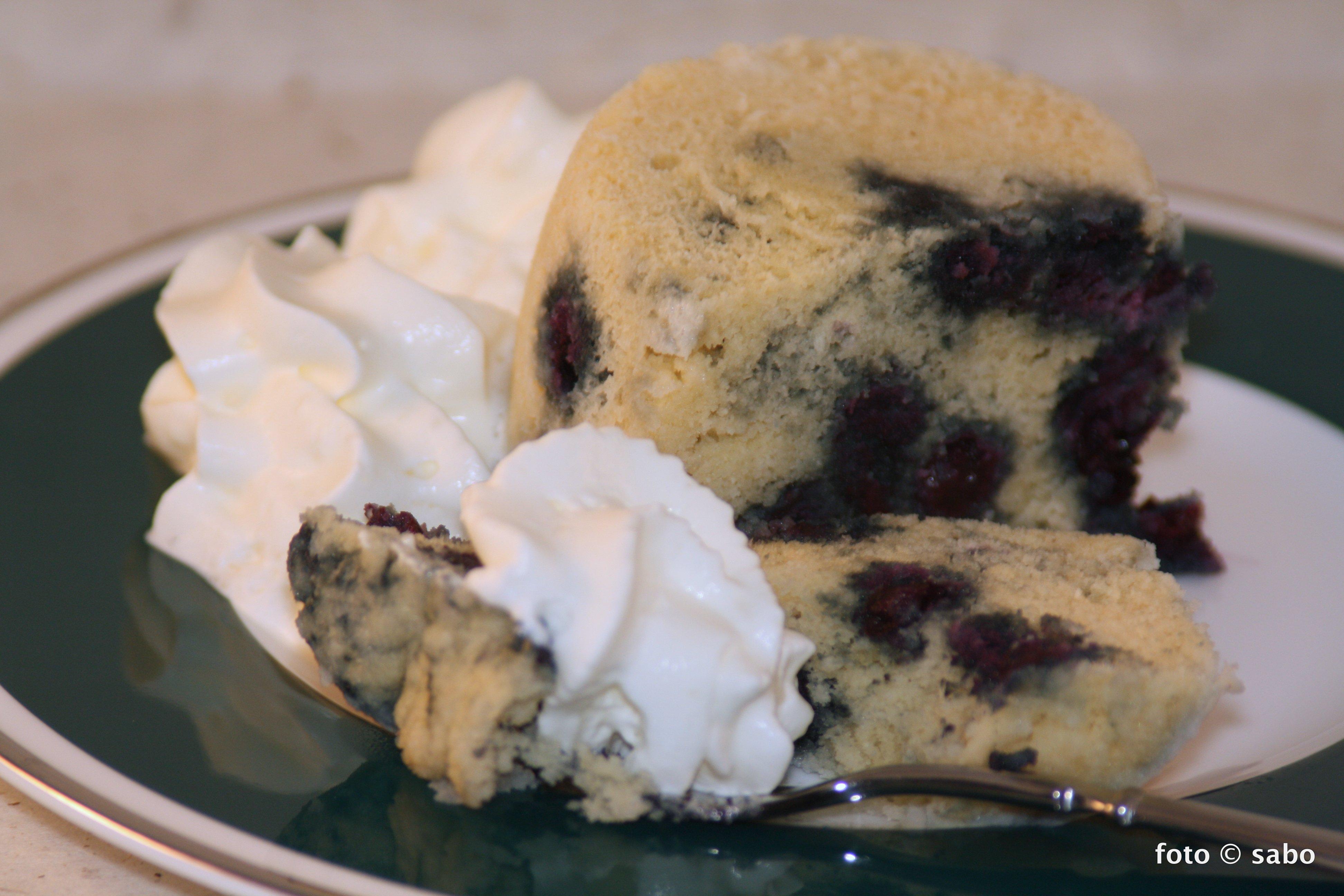 Blaubeer-Tassenkuchen -Mugcake- (Low Carb / Keto)