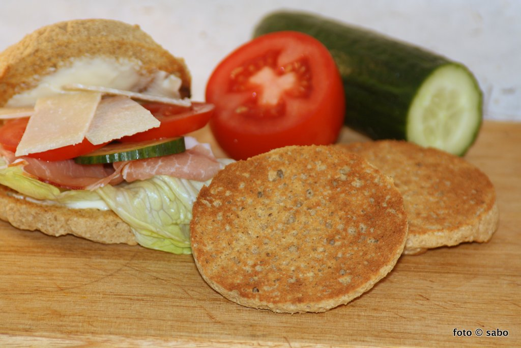 Schnelle English Muffins / Toasties (Low Carb / Keto)
