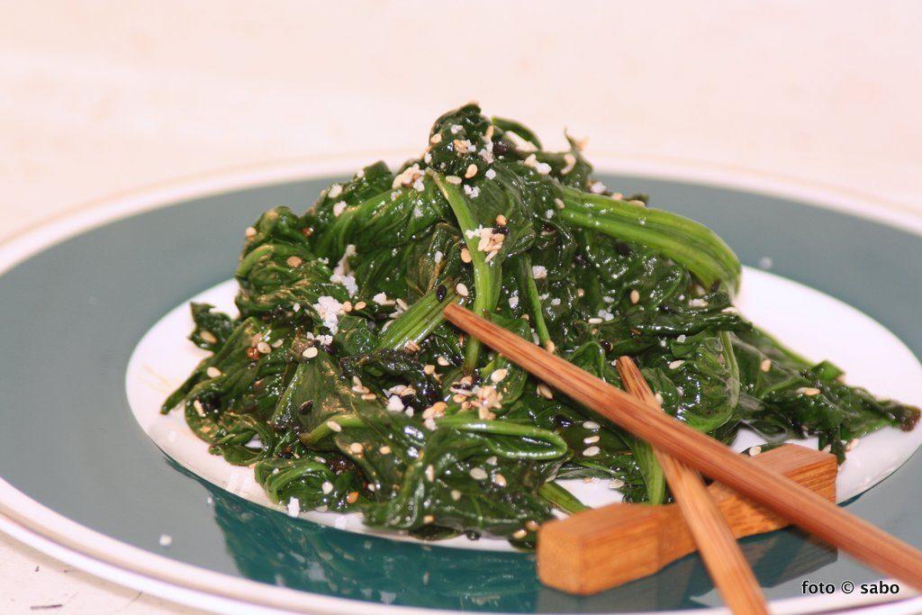 Koreanischer Spinatsalat – SiGuemChi NaMul (Low Carb / Keto)