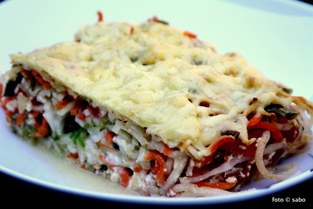 Gemüsenudel-Auflauf (Low Carb / Keto / Vegetarisch)
