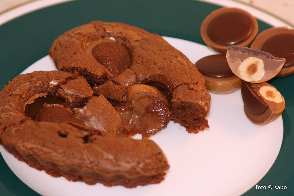 Toffifee-Brownie für Schokoholics