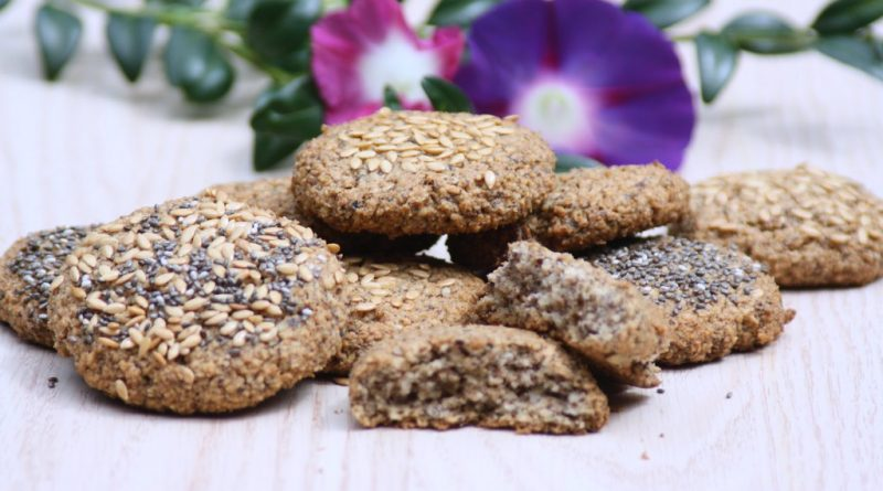 Haselnuss-Leinsamen-Cookies (Low Carb / Keto)