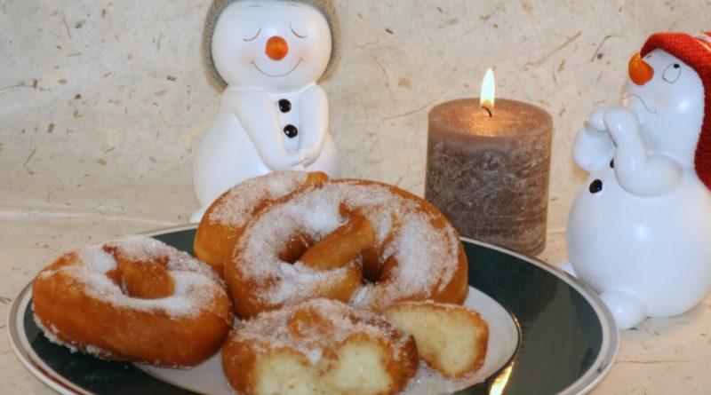 Süße Brezeln – Fettgebäck