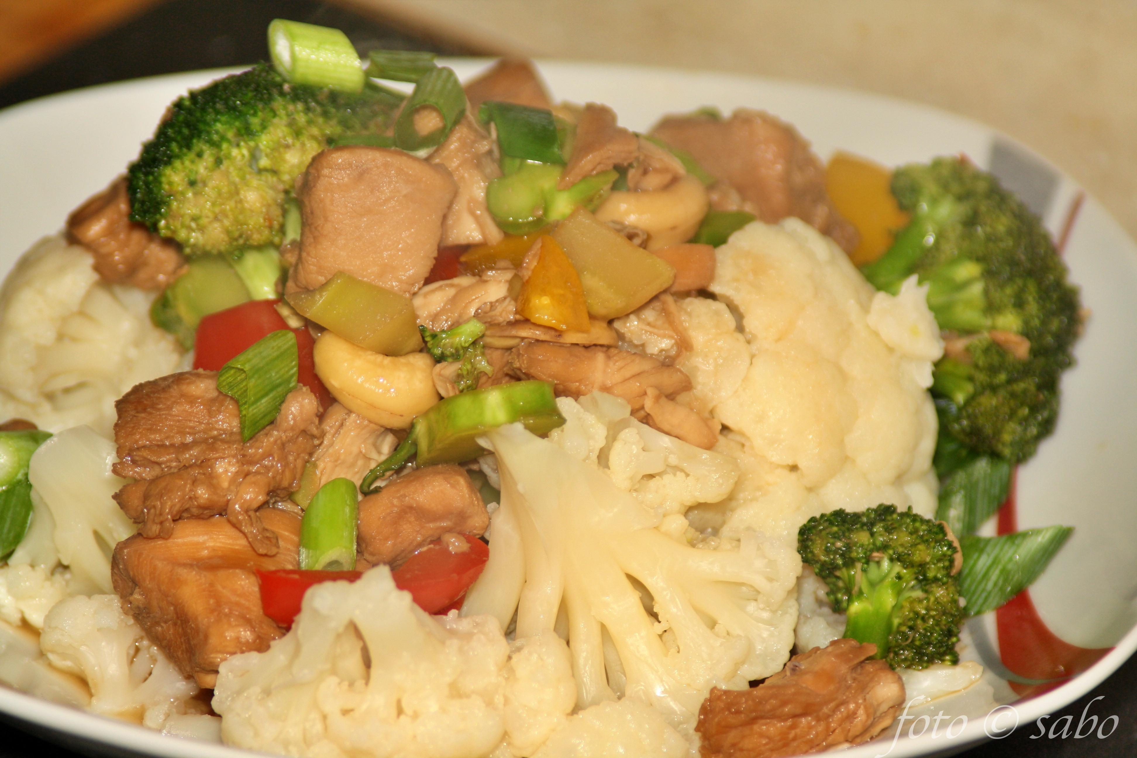 Asiatisches Huhn aus dem Instant Pot (Low Carb / Keto)