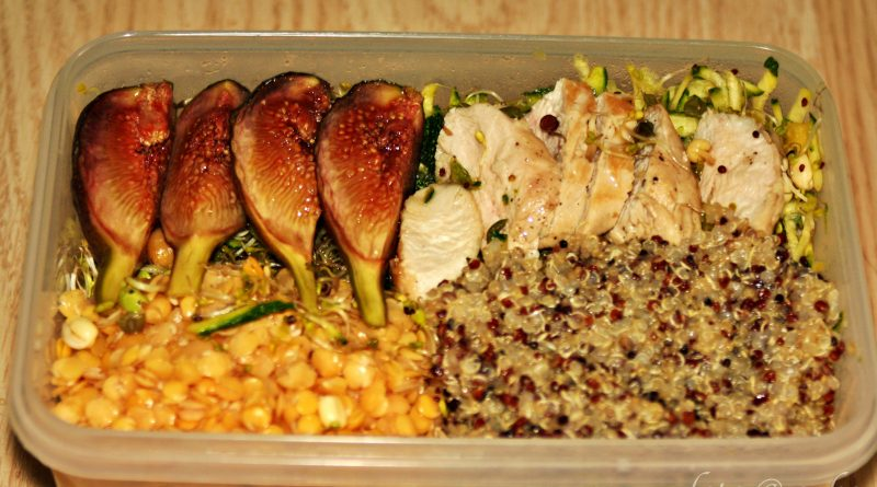 Proteinreiche Lunches / Salate als Meal Prep