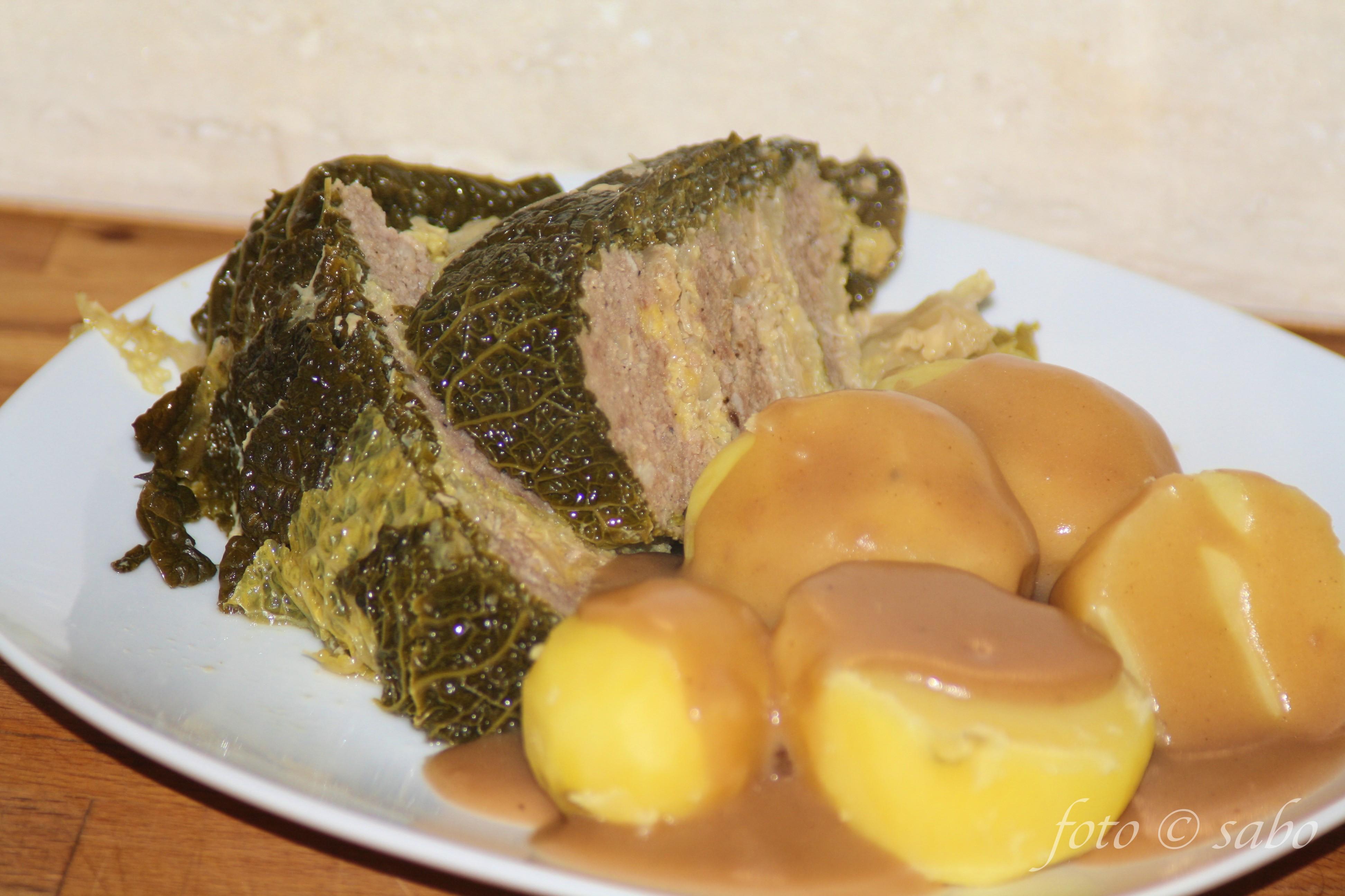 Kohlpudding mit Wirsingkohl aus dem Instant Pot